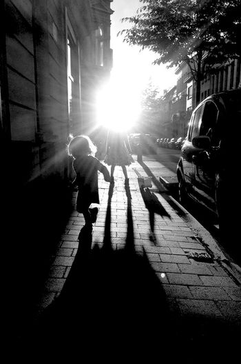 Sunny Head Creative Light And Shadow Blackandwhite Kidsphotography Running Light And Shadow IPhoneography Summer Views Cities At Night
