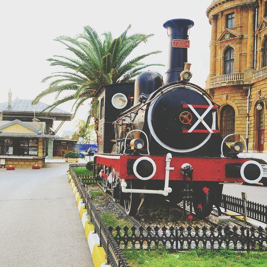 Haydarpasa Istanbul Turkey Hey  Train
