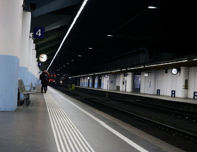 Station Vienna Your Ticket To Europe Binary Built Structure Illuminated Indoors  Night Public Transportation Rail Transportation Railroad Station Railroad Station Platform Railroad Track Real People The Way Forward Train Train - Vehicle Train Station Transportation Travel Vienna Train Station