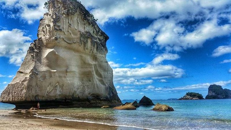 A hidden gem at the Cathedralcove . Newzealand Coromandelpeninsula Nzmustdo Destinationnz Kiwipics Beach Traveler Travelphotography Travelholic Igtravel Igers Visitnz 여행 여행에미치다 뉴질랜드 여행스타그램 캐시드럴코브 여행사진 Awesomeearth