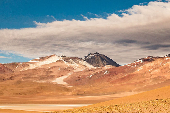 Landscape Cloud - Sky Sky Scenics Outdoors Mountain No People Day Andes Mountains Eduardo Avaroa Eduardo Avaroa National Reserve Andes Southamerica Potosi Bolivia Bolivia Landscape_photography Potosi Landscapes Andes Landscape Andesmountains Outdoors Photograpghy  Nature Desert Potosi Mountains Landscape Photography
