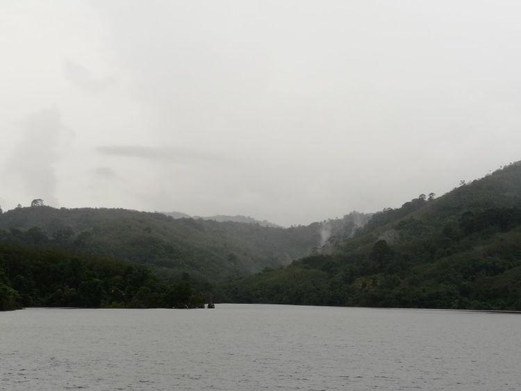 Bang wad dam.Monochrome Photography HuaweiP9 Phuket,Thailand
