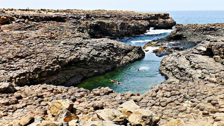 Africa Caboverde Buraçona Taking Photos Blu Grey Waves Swimmingpool EyeEm Nature Lover