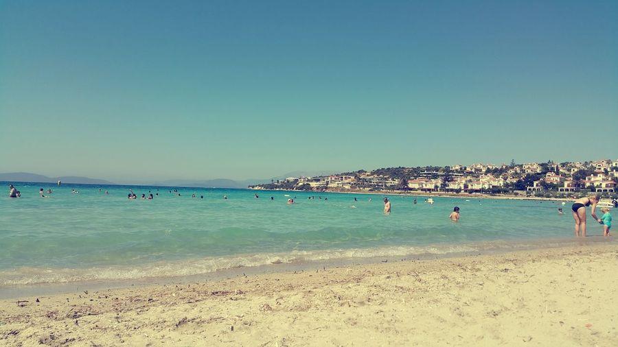 Tatil Deniz Oh Dunya Varmiş