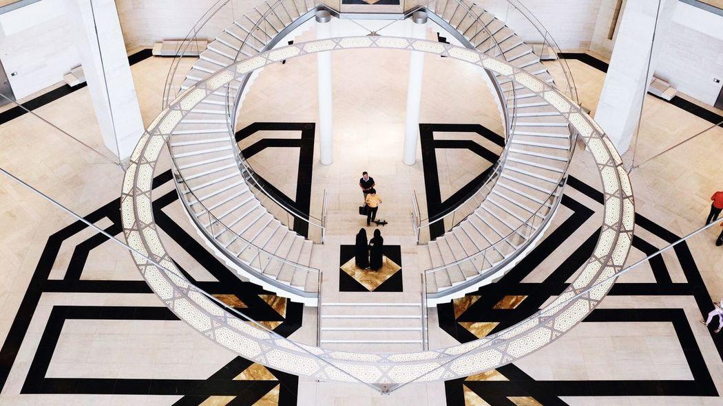 Doha Qatar Museum Islamicart Islamic Art Symmetry Abaya Design Architrcture Interior Interior Design Fujifilm X100t Minimal Minimalism The Architect - 2016 EyeEm Awards Fujifilm_xseries