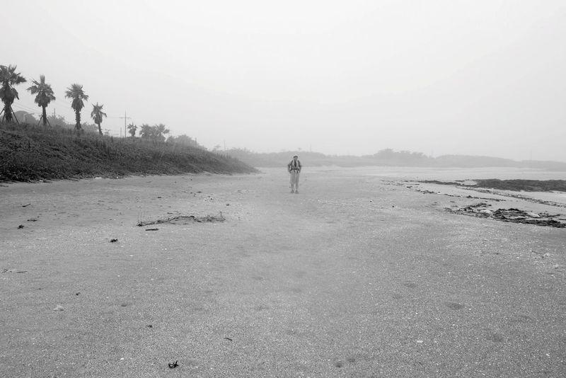 Beach Lonely Beach Life Rain Landscape B&w Rainy Days JEJU ISLAND  Jeju