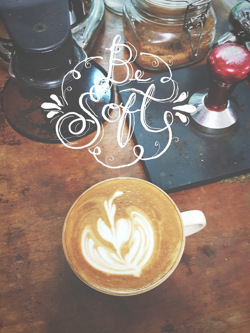 coffee cup, coffee - drink, drink, table, refreshment, frothy drink, high angle view, cappuccino, froth art, food and drink, no people, saucer, indoors, latte, day, close-up
