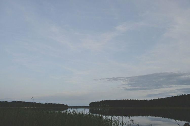 Sammer 2015 Lake Seliger Nature Horizon