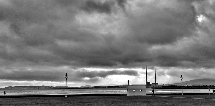 winter clouds Shades Of Winter Walking By The Sea Bnw_photography Huaweicreatives Blackandwhite Winter_collection Outdoors No People