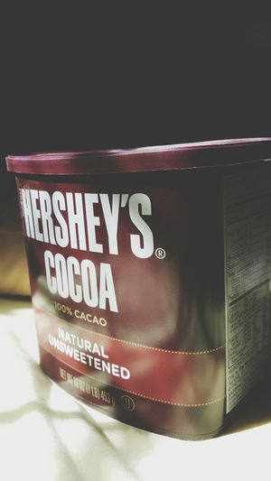 Hersheys ♥ Cacao Cocoa hemp protein brownies are a go.