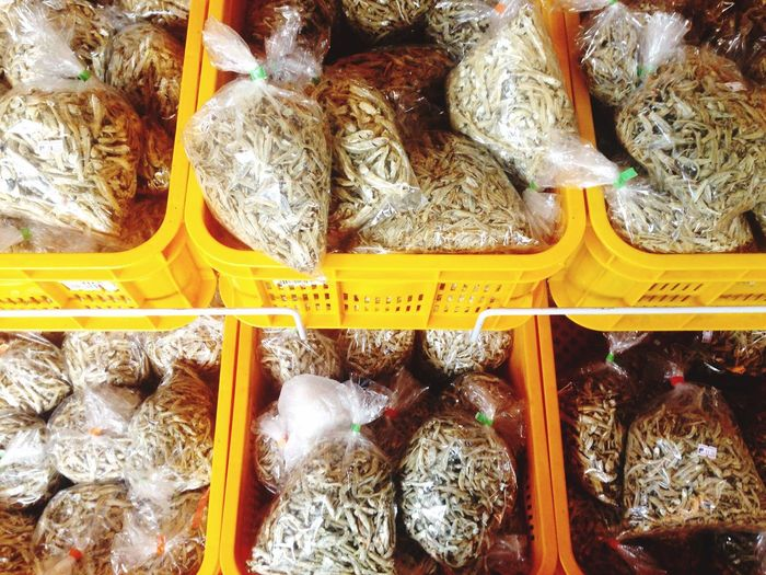 Dried fish Fish Packed Packed&ready Sale Malaysia Food Traditional Culture IPhoneography Handheld