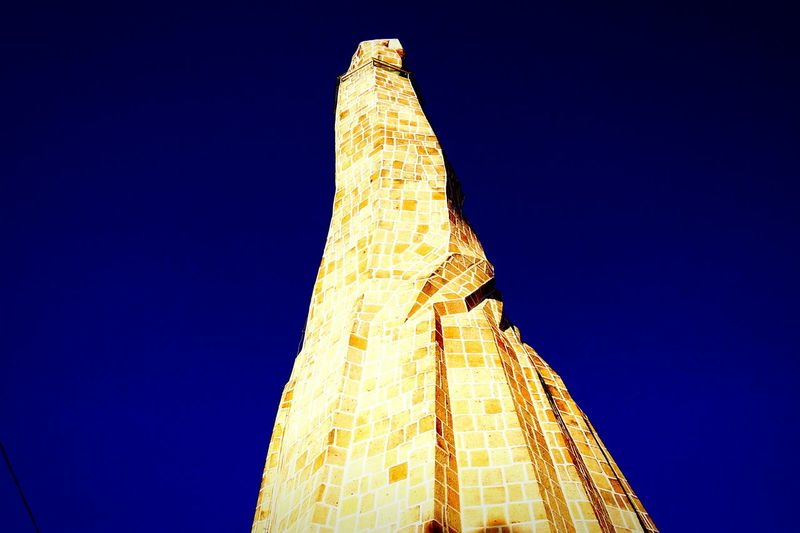 Travel Low Angle View Clear Sky Travel Destinations Outdoors History Sky Monument Ancient No People Sculpture Ancient Civilization Day Blue Adventure Dark Transportation Mountain
