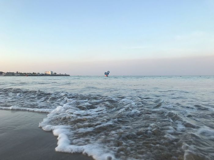 Sky Sea Water Scenics - Nature Beauty In Nature Beach Horizon Horizon Over Water Land Tranquil Scene Tranquility Nature Clear Sky Outdoors