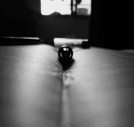 Indoors  No People Pool Ball Day Table Tabletop Pen Nib Black And White Pool Table Close-up Pool - Cue Sport Pool Cue Snooker EyeEm Selects EymEm Nature Lovers Nature Photography EyeMe EyeEmNewHere Be. Ready. Black And White Friday