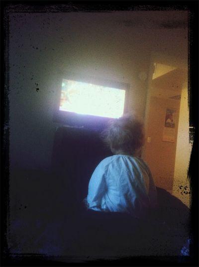 Vay watching Tickety Tock Children Hypnosis