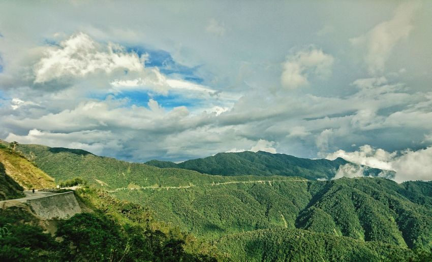 12-hour journey back to the city Mountain Range Outdoors Beauty In Nature Scenics Landscape Long Winding Road Mountain Province Philippines Land Travel