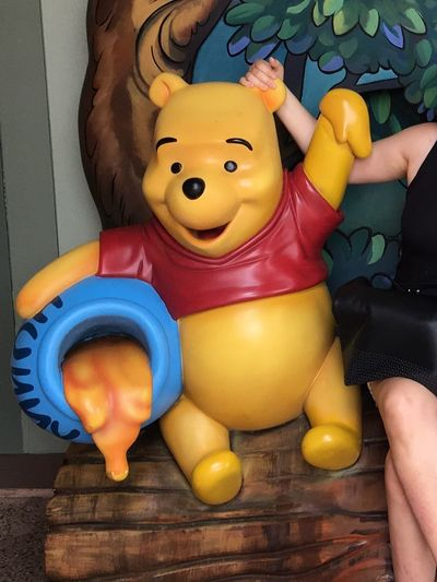 Animal Representation Indoors  Multi Colored No People Childhood Day Close-up Walt Disney World Disney Springs Pooh Winnie The Pooh  World Of Disney A A Milne Honey Christopher Robin