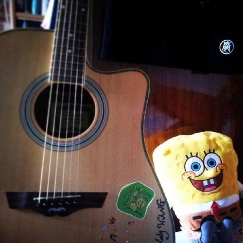 午安 Guitar 海綿寶寶 盧廣仲