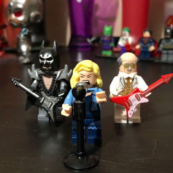 Batband Dccomics Lego Minifigures Human Representation Toy Childhood Male Likeness Representation Boys Indoors  Child Figurine