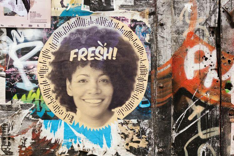 Fresh from Brick Lane Graffiti Street Art Graffiti Art Bricklane Wallart Poster Art Fresh