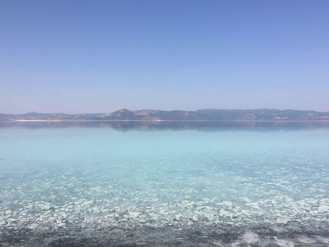 Turkey Lake Salda Lake Anatolia Outdoors Travel Nature Sky Mirror Nonfilter
