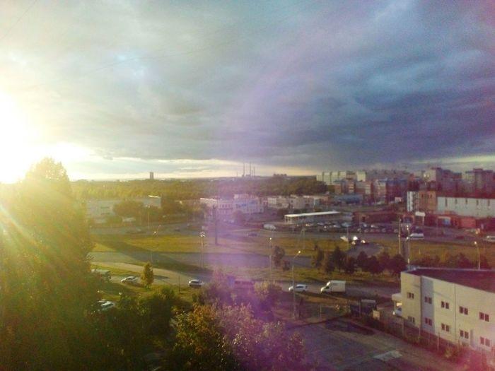 City Cloud - Sky Nature Built Structure