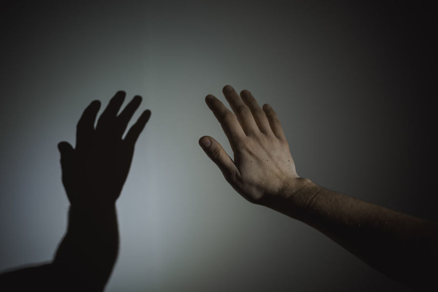 hand.. Adult Close-up Hand Horror Human Body Part Human Finger Human Hand Indoors  Men Minimal Minimalism Palm People Real People Shadow Silhouette Two People BYOPaper!