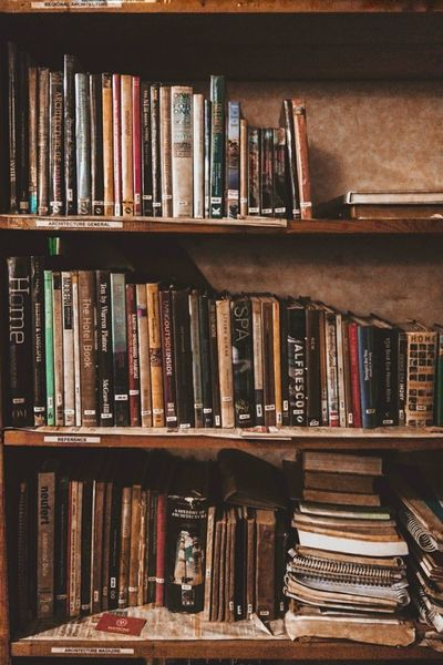 Archives. Bookshelf Book Shelf Large Group Of Objects Indoors  Library Music No People Arts Culture And Entertainment Day