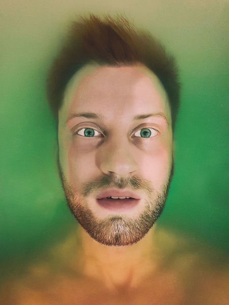 Underwater Human Face Human Body Part Green Color Portrait Looking At Camera One Person Human Eye Close-up Human Skin Adult Adults Only Indoors  People Facial Mask - Beauty Product Real People Men Only Men One Man Only Young Adult Cyberspace Bestphotooftheweek The Week On EyeEm