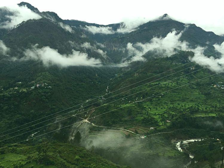 Mountains Iphonography Azure Sky Uttrakhand Holidays Travelogue