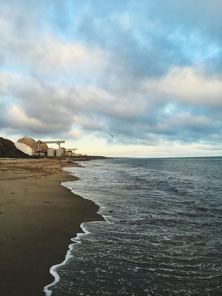 Yesterday's visit to San Onofre beach. Wish I was there now.