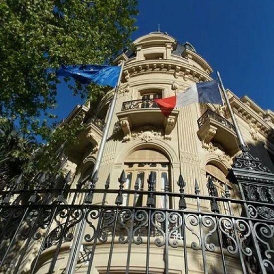 Embajada de Francia en Argentina Embajadadefrancia Embajada Recoleta Avalvearyarroyo avalvear palacioortizbasualdo palacio buenosaires