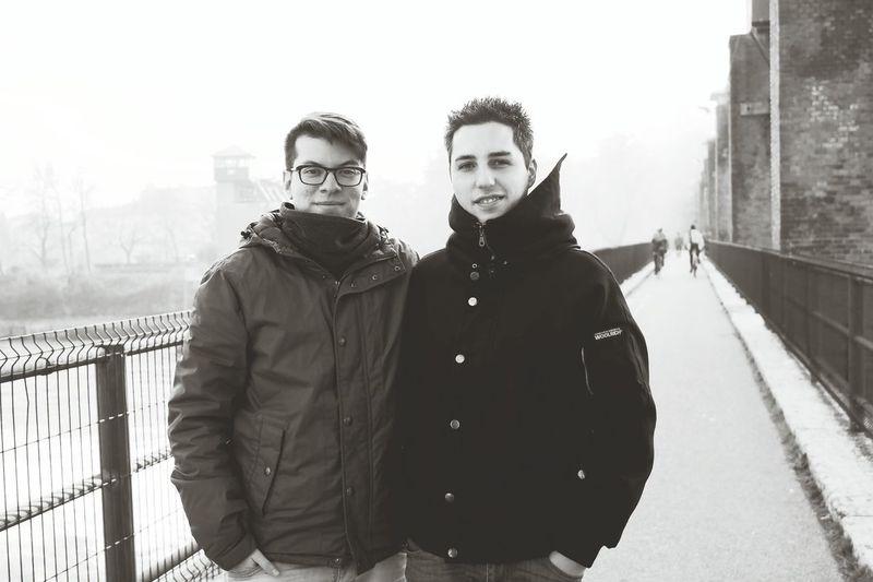 Photography Diciembre Cold Friend Verona Italy Diga Chievo Clivensi