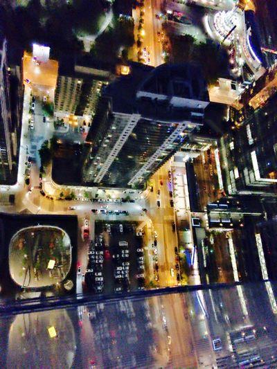 Birds Eye Toronto Illuminated City Night City Life No People night Urban stock sky scrapper First Eyeem Photo