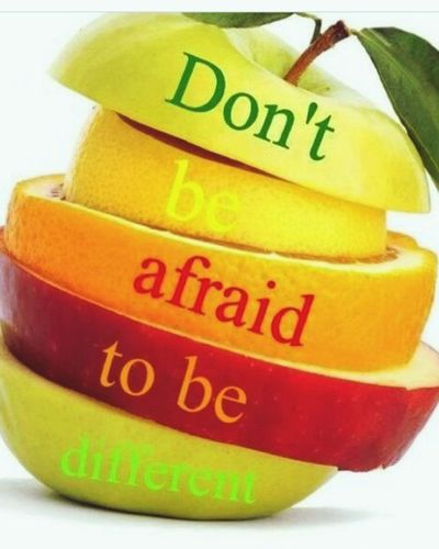 Life Quotes Apple Colors Sliced Assortment Apples Different Is Better . ❤ Love Fruits Healthy Food