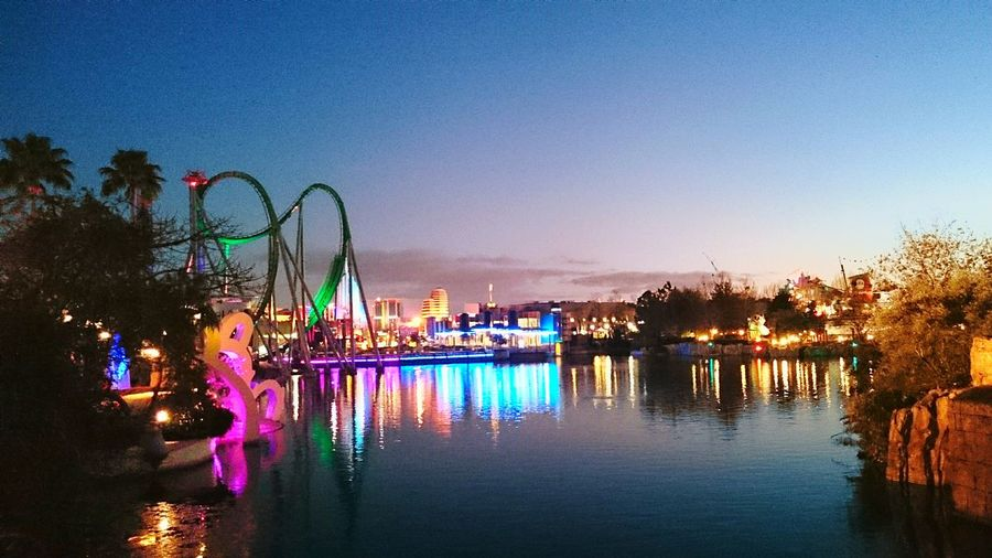 Universal Resort Orlando Florida Orlando USA Universal Islands Of Adventure Hulk Roller Coaster Roller Coaster The Hulk Ride