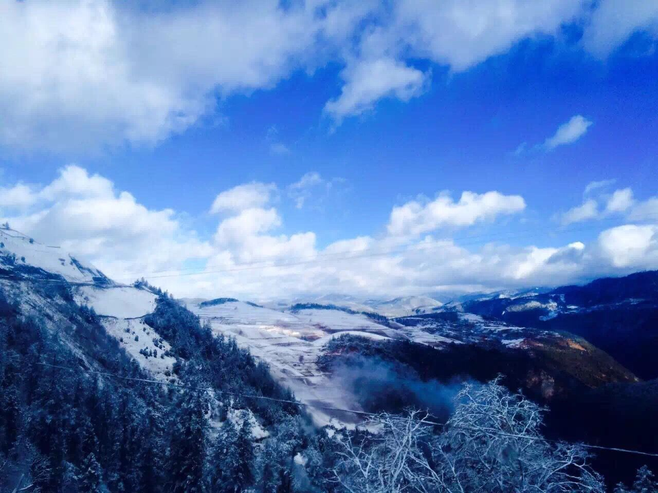 mountain, nature, beauty in nature, scenics, landscape, tranquil scene, sky, cold temperature, cloud - sky, snow, no people, outdoors, tranquility, day, wilderness area