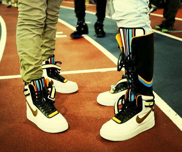 Nike Riccardo Tisci Air Force 1 Swoosh!!!