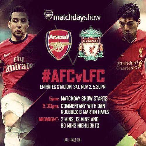 AFCvLFC ● Arsenal vs Liverpool