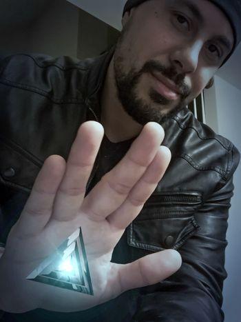 Live long and prosper...Spocks main message. 🖖🏽 That's Me Taking Photos Selfportrait Self Portrait Selfie ✌ That's Me Vulcan Spock NEM Self Man My Face Selfies Selfportrait_tuesday_nonchallenge