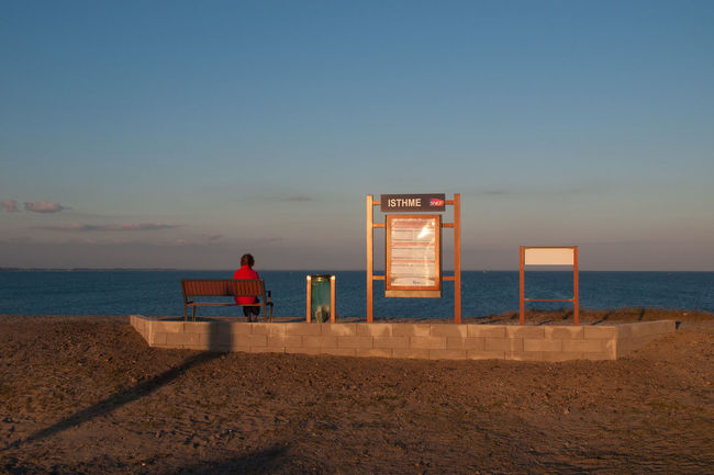Isthme de Penthievre Coastline Lonely Nature Penthièvre Sea And Sky Sunset Train Station Tranquility Feel The Journey Breathing Space