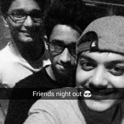 Nightout Fun Friends Selfe Maninagar Empty roads Riders Funtime Food