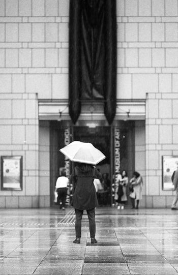 Street 135film Architecture Rain Rainy Days Blackandwhite Minolta ROKKOR