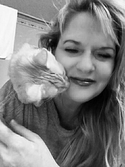 Kitty Kisses Cats Of EyeEm Furbaby Fur Family My Cat I Love My Cat Its Me! My Cat Loves Me! Little Bit BB FUNNY ANIMALS i don't kiss my cat on the lips, that's gross .