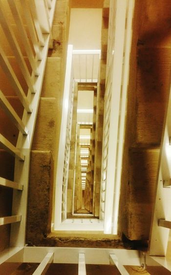 14th Floor  Stairs Stairwell Lookdown Noelevator Steps Dingy Staircase Stairs To Nowhere