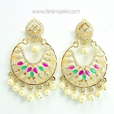 http://www.desiroyale.com Check out our Beautiful Goldplated Earrings upto 60%off Sale Free Shipping  Desi Desiroyale Wedding Punjabi Picoftheday Photooftheday Indianbride Accessories Jewelry Buy Online  Shopping Lehenga Desiweddings Anarkali Bag Burningman Bag Bags silver red anthropologie zara