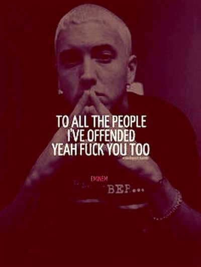 Eminem SlimShady Eminemquotes Gunit Check This Out Limited Edition Quotes