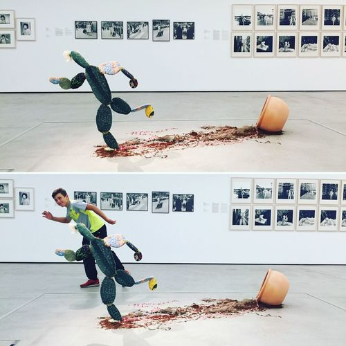 ArtWork Contemporary Art Funny Run Ingaway