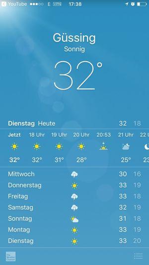 Sun Hot Day