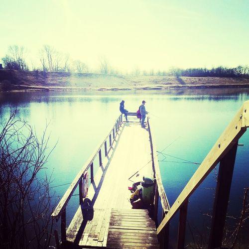 Fishing Sun Beautiful